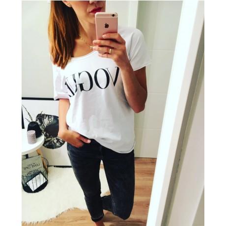 Tričko VOGUE bílé