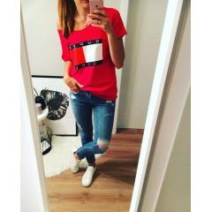 Tričko SUPER GIRL červená