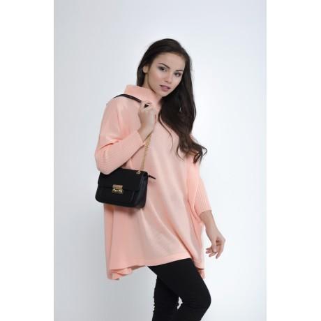 Oversize svetr Charlotte - neonová